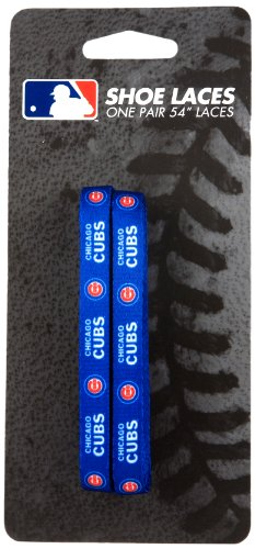 MLB Chicago Cubs 54Inch LaceUps Shoe Laces Picture