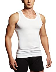 Rupa Frontline Men's Cotton Vest  (890397845355 (AIR RIB RN -White-100)