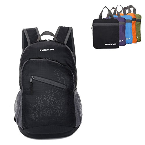 66fc47363b35 HEXIN Waterproof Rated 20L 33L Lightweight Foldable Backpack - Import It All