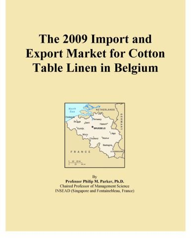 The 2009 Import and Export Market for Cotton Table Linen in Belgium