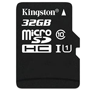 Kingston Technology 32GB SDHC Class 10 Memory Card without Full Size SD Adapter