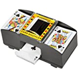 Trademark Innovations Card Deck Automatic Shuffler