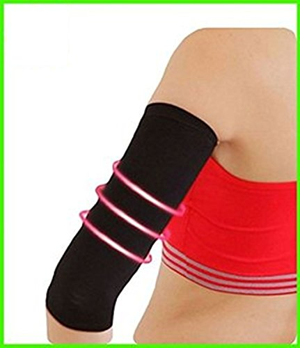 Slimming Neoprene Body Shaper Sleeve- Sauna and Workout Arm Sleeve- Wetsuit Womens Slimmer - Sagging and Excess Skin in Arms