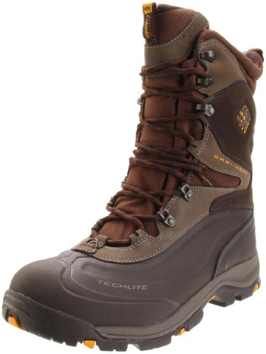 Columbia Sportswear Men's Bugaboot Plus XTM Snow Boot,Turkish Coffee/Golden Glow,17 M US