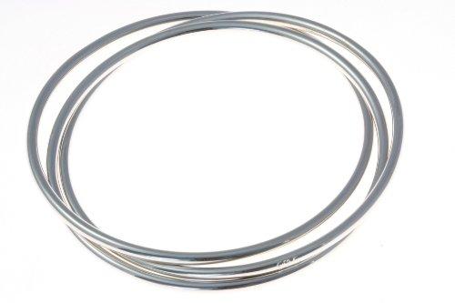 Modern 925 Sterling Silver Ladies Bangle - 16 Grams