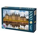D-Toys Chateau de Chambord France French Castles Jigsaw Puzzle (1000 Pieces)