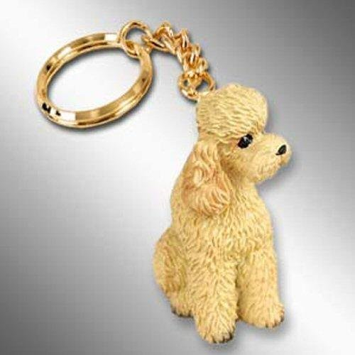 Apricot PoodleSport Cut Keychain (2 1/2 in)
