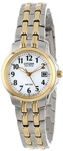 Citizen Women's EW1544-53A Eco-Drive Silhouette Sport Two-Tone Watch