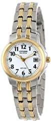 Citizen Womens EW1544-53A Eco-Drive Silhouette Sport Two-Tone