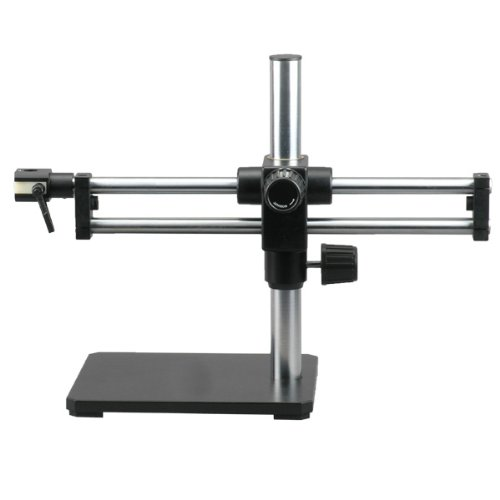 AmScope-BBB-Ball-bearing-Dual-Arm-Boom-Stand-for-Stereo-Microscopes