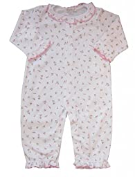 Kissy Kissy Printed Playsuit - Garden Roses -- red size: 3-6 months