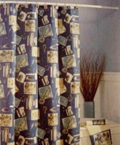 Outdoor Themed Shower Curtains Vintage Themed Shower Curtains
