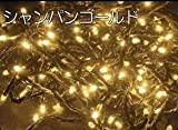 イルミネーション LED500灯 ストレート ライト シャンパンゴールド 点灯8パターン コントローラ付 最大2000球まで連結可能 [おもちゃ&ホビー]