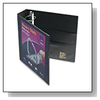 Heavy Duty 2 inch Black View Binder with One Touch EZDTM Ring