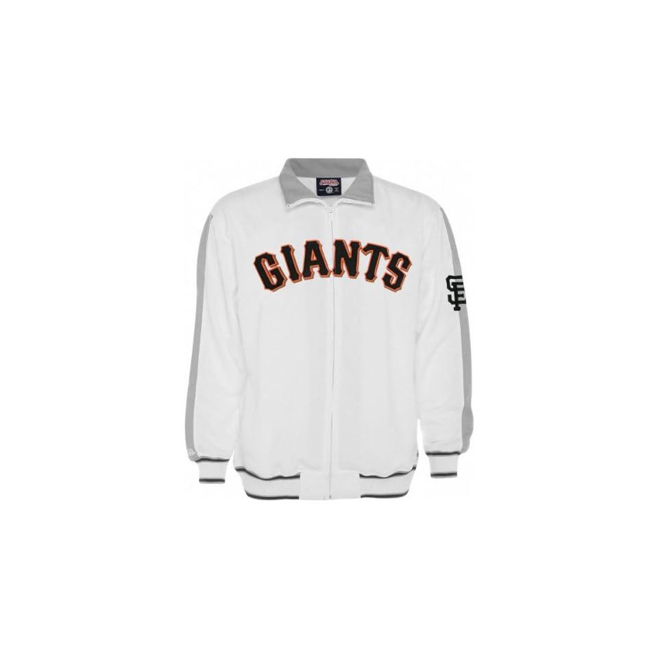 San Francisco Giants Track Jacket Stitches White Track Jacket
