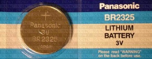 Panasonic-One (1) X Br2325 Cr2325 Lithium Coin Cell Battery 3V Blister Packed