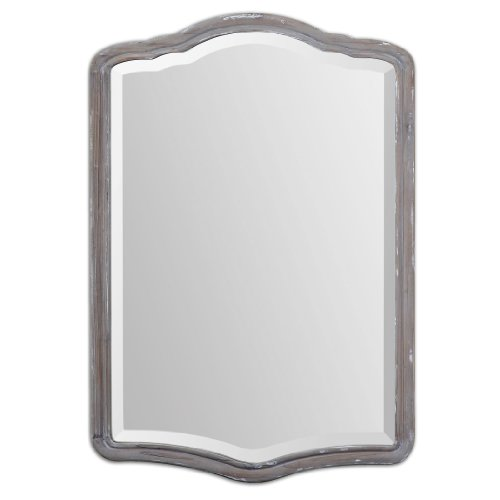 Uttermost 14485 Amedea Aged Wood Mirror front-191592