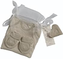 Hot Sale Organic Cotton Baby Gift Set (3-6m, Green Tea & Pistachio)