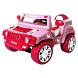 Magna Hello Kitty Electric SUV children's ride on - Pink