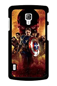 Caseque Captain America The First Avengers Back Shell Case Cover For LG L7 II