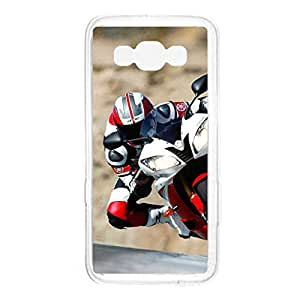 a AND b Designer Printed Mobile Back Cover / Back Case For Samsung Galaxy A7 (SG_A7_1509)
