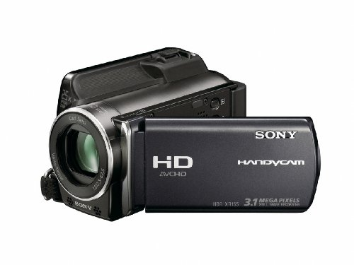 Sony HDRXR155EB High Definition Handycam Camcorder With Built-In 120GB Hard Disc Drive - Black
