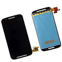 Online For Good(TM) Full LCD Touch Digitizer Screen Replacement for Motorola Moto E XT1021/1022/1025 first generation - Black
