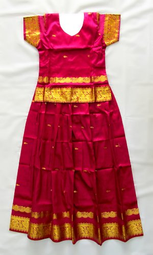 Art Silk Butta Dress (11 yrs)