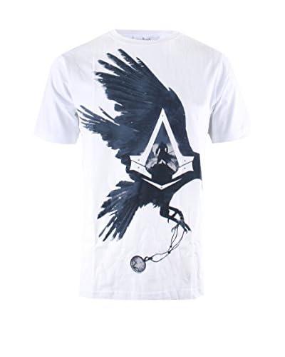 ICONIC COLLECTION - ASSASSINS CREED T-Shirt Manica Corta Syndicate - Raven Talisman [Grigio Chiaro]