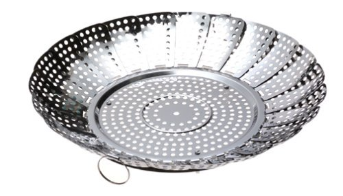 Norpro Large No Post Stainless Steel Vegetable Steamer by Norpro (Norpro Large Vegetable Steamer compare prices)