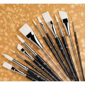 12 Pack SHORT HANDLE ROUND BRUSH Drafting, Engineering, Art (General Catalog)
