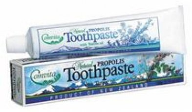 Comvita 100% Propolis Toothpaste - Tea Tree Oil - Liquorice Mint -100g
