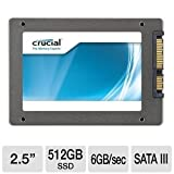 Crucial 512 GB m4 2.5-Inch Solid State Drive SATA 6Gb/s CT512M4SSD2