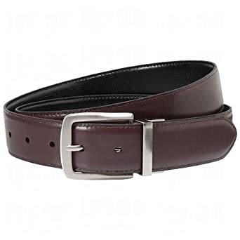 Beverly Hills Polo Club Men's Reversible Leather Belt