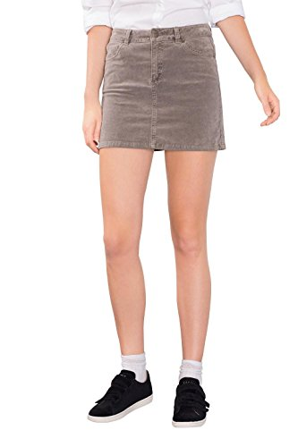 edc by ESPRIT 096CC1D011, Gonna Donna, Marrone (Taupe), 42