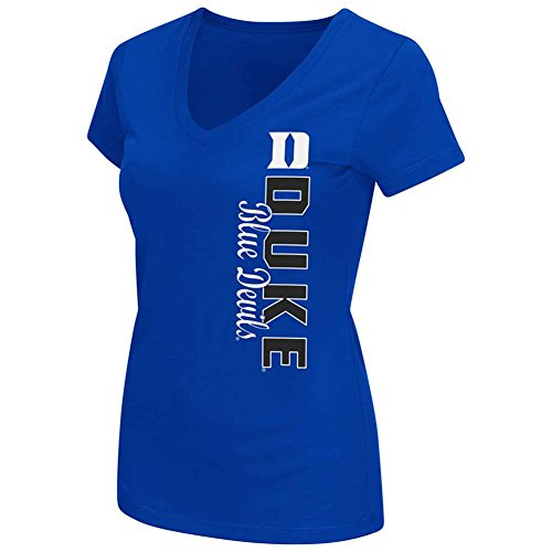 Ladies Duke Blue Devils 2 Sided Compulsory Short Sleeve Tee Shirt (Large) (Duke Blue Devils Womens Apparel compare prices)