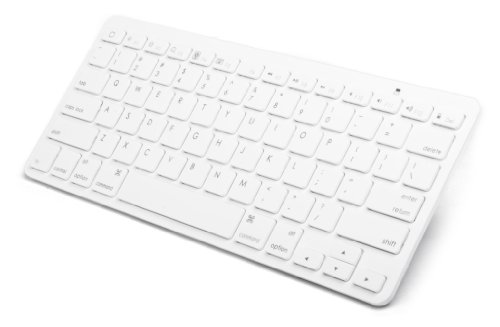 Pwr+® Extra Slim External Wireless Bluetooth Keyboard For Apple Ipad, Iphone / Amazon Kindle Fire Hd, Hdx, Touch, Paperwhite / Google Nexus / Lg Optimus / Acer Iconia A1, B1, W3, A200, A500, W510, W700 / Asus Eee Pad Tf101, T100Ta, Tf300T, Tf700T, Tf701T,