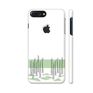 Colorpur Forest Pathways Artwork On Apple iPhone 7 Plus Logo Cut Cover (Designer Mobile Back Case)   Artist: Anne Milan