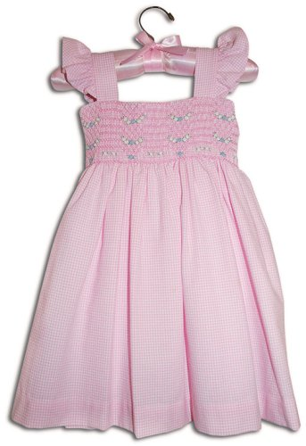 Fiorella Hand smocked girl pink gingham party sundress - Size 1 - Buy Fiorella Hand smocked girl pink gingham party sundress - Size 1 - Purchase Fiorella Hand smocked girl pink gingham party sundress - Size 1 (Farfallina For Kids, Farfallina For Kids Dresses, Farfallina For Kids Girls Dresses, Apparel, Departments, Kids & Baby, Girls, Dresses, Girls Dresses, Baby Doll & Sundresses)