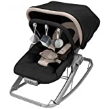 Maclaren 2-in-1 Baby Rocker and Chair, Black and Champagne (Discontinued by Manufacturer)