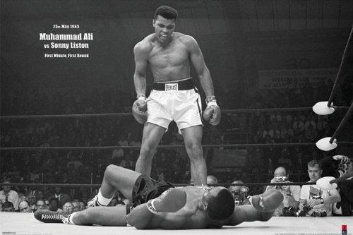 GB Eye Ltd, Muhammad Ali, V's Liston Landscape, Maxi Poster