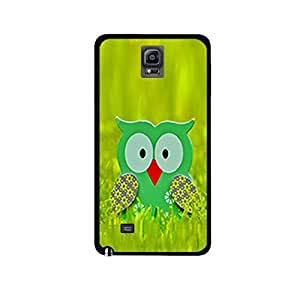 Vibhar printed case back cover for Samsung Galaxy Note Edge Grassowl