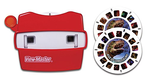 Basic-Fun-View-Master-Classic-Viewer-with-2-Reels-Age-of-Dinosaurs-Toy