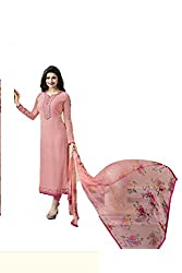 Hetal's Boutique Women's Georgette Unstitched Dress Material_71_Multicolored_Freesize