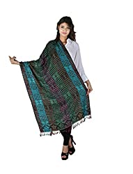 Figaro Multi-coloured Viscose Woven Women's Shawl
