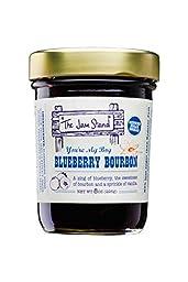 The Jam Stand You\'re My Boy BLUE-berry Bourbon Jam