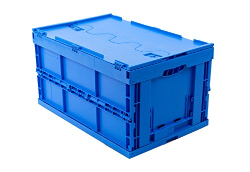 KLAPPBOX-MIT-DECKEL-60-Liter-Faltbox-60x40x33cm-stabile-Transportkiste-Transportbox-TV-Zert-Kunststoffbox-max-60kg-5-RABATT-AB-5-STCK