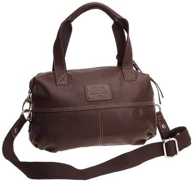Womans leather Handbags BAG WOMAN GEARY LTHR CONV STCHL CHOCO ZB4986202