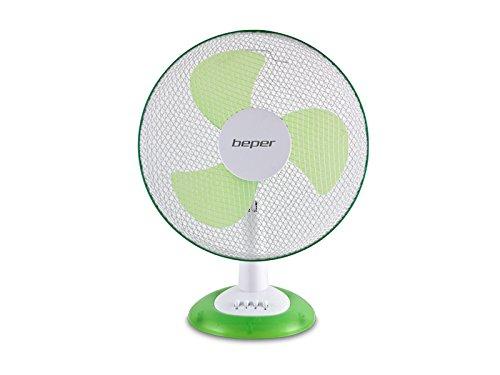 Beper Breeze Nature-Ventilatore da tavolo, colore: verde