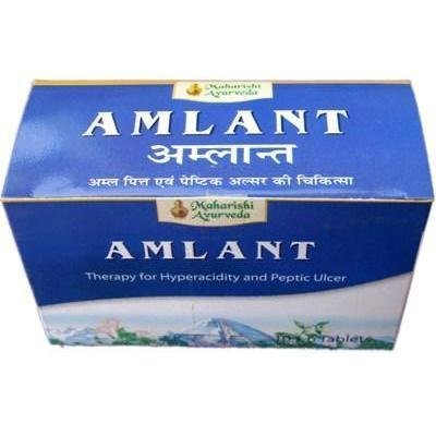 Amlant - Maharishi Ayurveda Antacid And Digestive Aid - 1000Mg - 60 Tablets